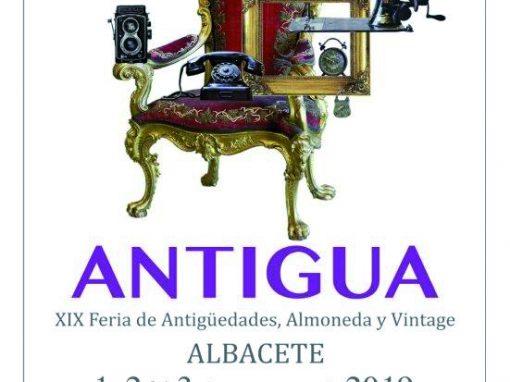 XIX FERIA DE ANTIGÜEDADES, ALMONEDA Y VINTAGE